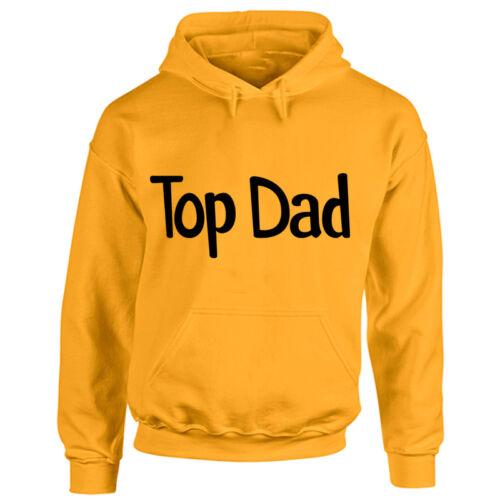 Da Uomo Top Dad Felpa con cappuccio-Padri Giorno BEST DAD-PADRE COMPLEANNO REGALO Felpa con Cappuccio
