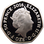 COLOURED-MRS-TIGGY-WINKLE-PETER-RABBIT-039-s-FRIEND-RARE-50p-UNCIRCULATED-COIN-2016 thumbnail 2