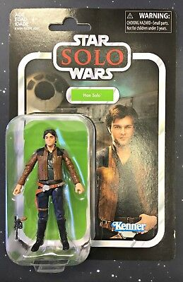 MOC New Star Wars Vintage Collection Han Solo SOLO a Star Wars Story VC124