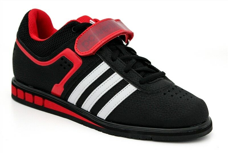 Adidas Powerlift 2 Trainer - Men's Power Lifting shoes - Black and Red - 33821