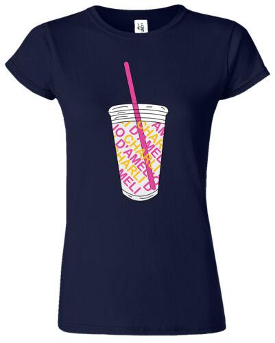 TIK Chrlie The Hype House Summer Short Sleeves TOK D/'Amelio Women T-Shirt
