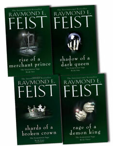 Raymond-E-Feist-Serpentwar-Saga-4-Books-Collection-Pack-Set