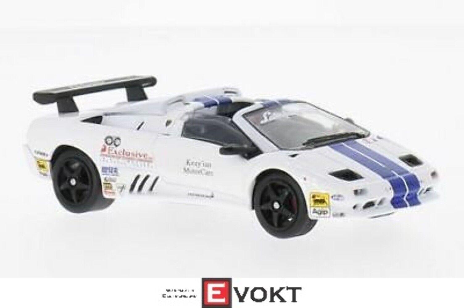 Lamborghini Diablo VT-R Roadster Trofeo,bianca blu,1 43,biancaBox