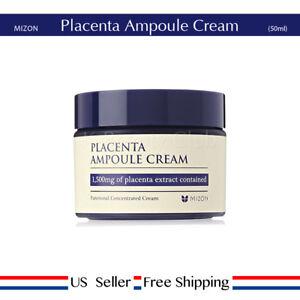 Mizon-Placenta-Ampoule-Cream-50ml-hydrate-wrinkle-care-Free-Sample-US-seller