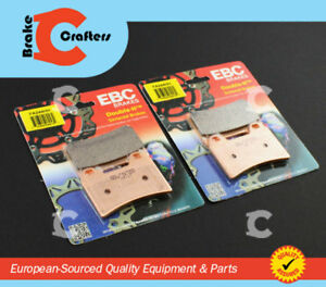 1999 - 2001 DUCATI 996 SPS/S/MONOPOST<wbr/>O/BIPOSTO - EBC HH RATED FRONT BRAKE PADS