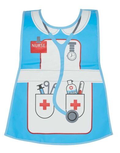 Âge 2 To 4 Free p/&p Childrens Infirmière Tabard-tablier Cooksmart Kids