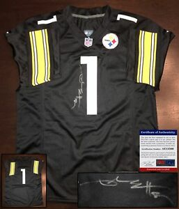 51f91842377 Image is loading Pittsburgh-Steelers-Antonio-Brown-Signed-Jersey-PSA-DNA-