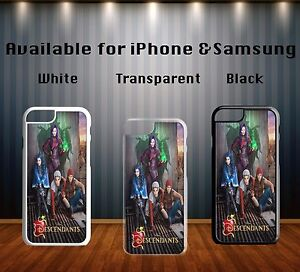 Descendants-Disney-All-Character-Mal-Evie-Poster-Hard-Phone-Case-Cover-X218