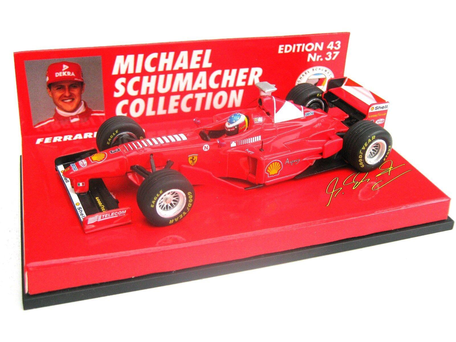 Ferrari f300 Schumacher 1998 1998 1998 Ed 43 no 37 PMA Minichamps 510984303 MSC 1 43 neuf dans sa boîte 363122