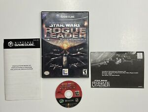 Star Wars Rogue Leader Rogue Squadron 2 (Nintendo Gamecube, 2001) Complete