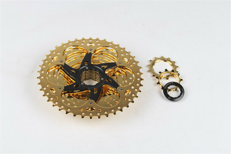 Sunshine 11 Speed MTB Bike Flywheel Plated With gold Cycling Freewheels 11-42T