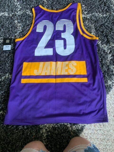 NBA Men's Los Angeles Lakers #23 Lebron James Jersey Tank Sz M for ...