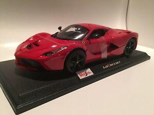 Ferrari-LaFerrari-Rojo-Die-Cast-Maisto-Special-Edition-1-18-Escala