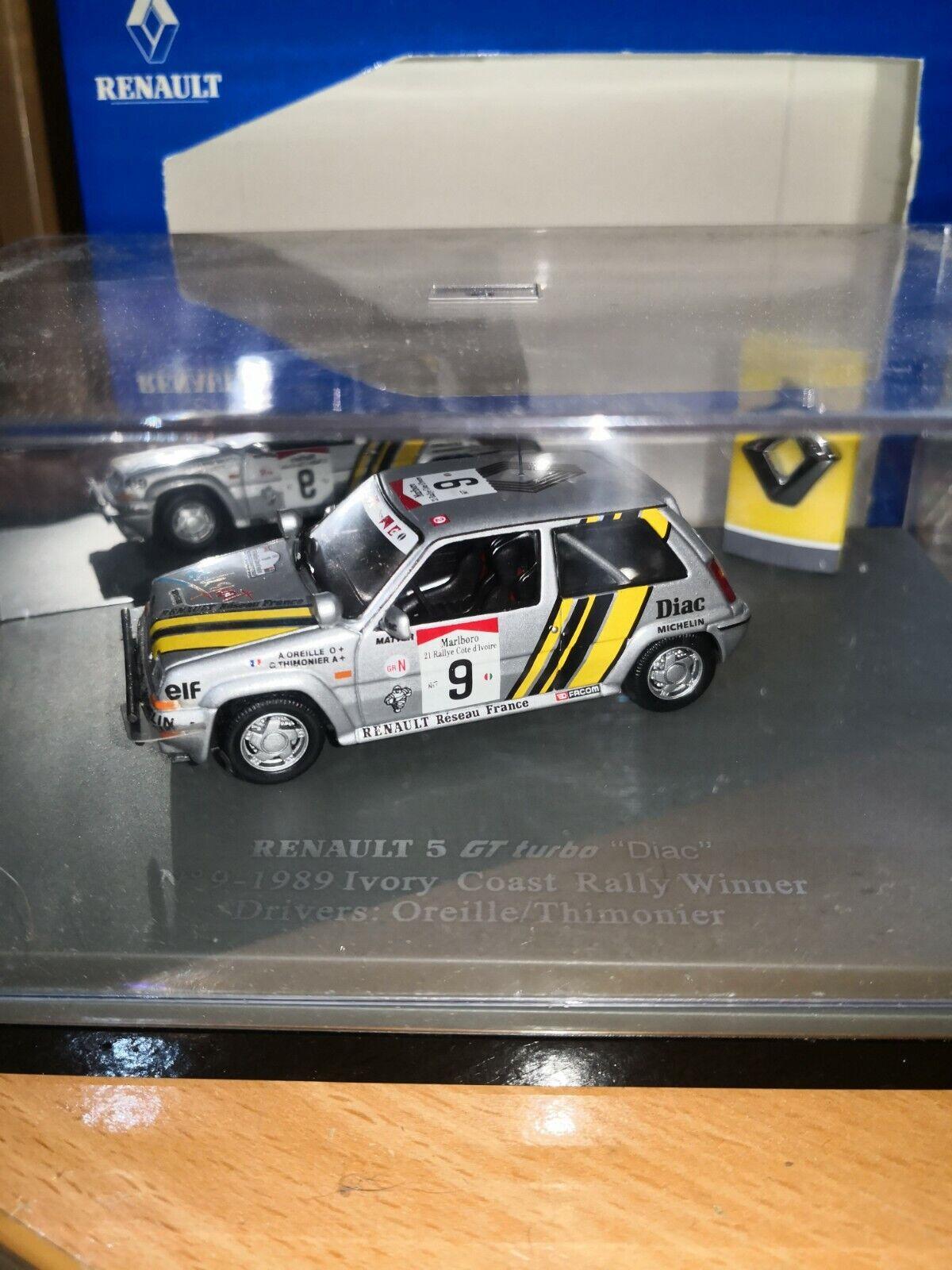 Renault 5 gt turbo 9 winner ivory coast 89 uh 1 43