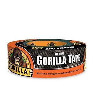 Gorilla Tape Black 48mm X 11m Extra Dickes Und Klebriges Wetterfestes Klebeband Heimwerker