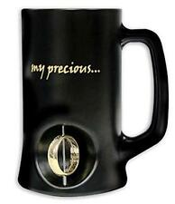 Boccale birra Lord Of The Rings 3D Rotating anello One ring Beer Stein black