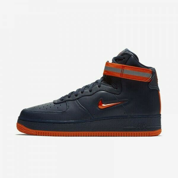 Nike Air Force 1 High Retro QS FDNY Quick Strike AO1636-400 New Men's Multi Size