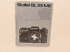 ROLLEI SL35ME INSTRUCTION BOOK