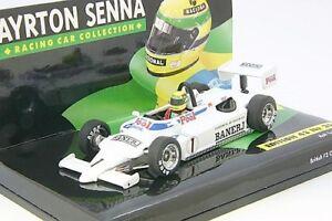 Ralt Toyota Ayrton Senna champion britannique 1983 Minichamps 1/43!