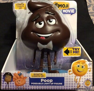 BNIB 94539 Poop The Emoji Movie Light Up Figure