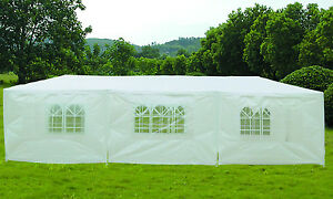 9m-x-3m-White-Garden-Gazebo-Party-Tent-Marquee-Water-Resistant-Cover-Sidewalls