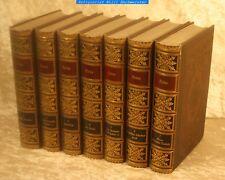 Heine, Heinrich-Sämtliche Werke in 7 Bänden-Meyers Klassiker Ausgaben 1890