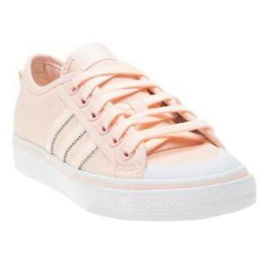 New Womens adidas Pink Nizza Canvas