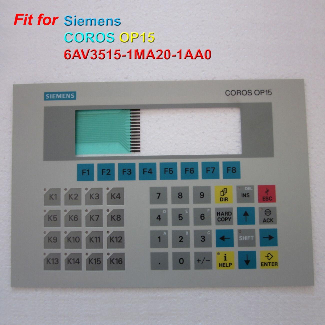 For SIEMENS CgoldS OP15 6AV3515-1MA20-1AA0, 6AV3-515-1MA20-1AA0 Membrane Keypad