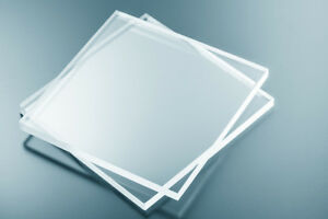 The Frame Centre Perspex Styrene Glass for Photo Picture Frames 1.2mm Clear 5x7