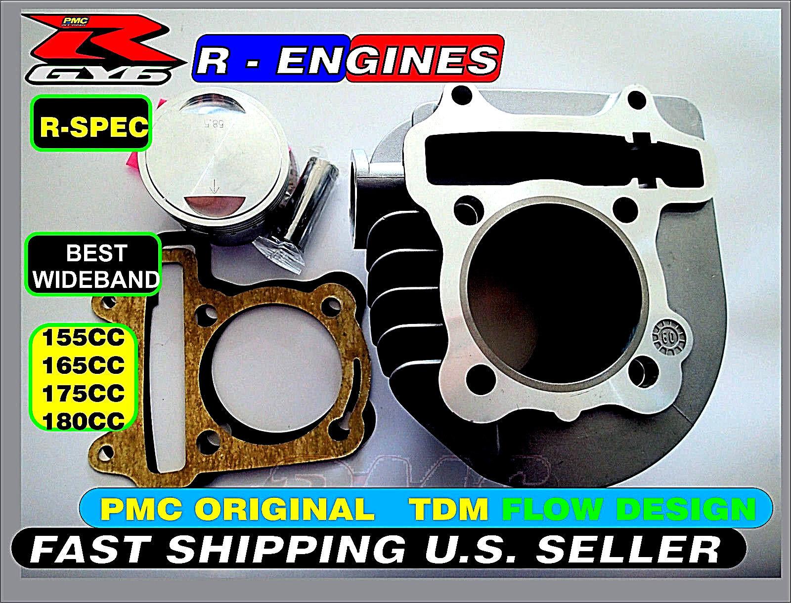Performance GY6 Cylinder Upgrade Kit  Big Bore 150cc 125cc Engines Premium A  tutto in alta qualità e prezzo basso
