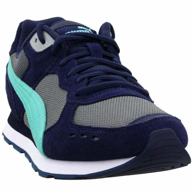 Puma Vista Sneakers Casual    - Navy - Mens