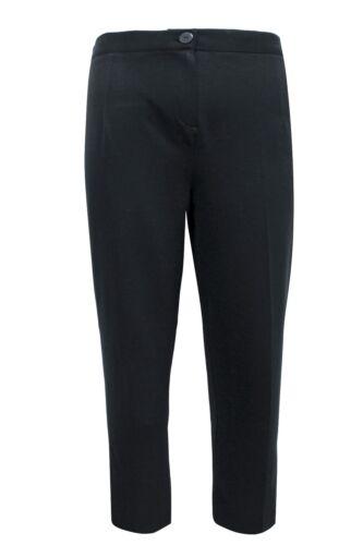 New Ladies Emily Premium Straight Leg Plus Size Trousers