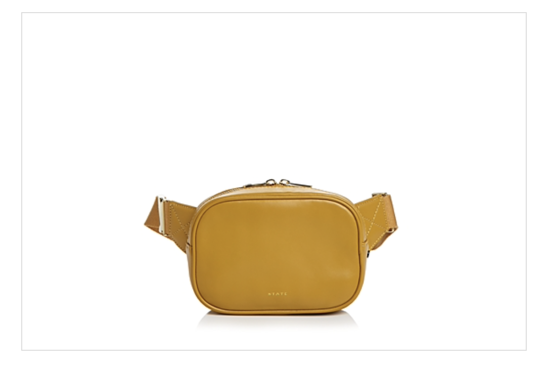 STATE Crosby Leather Belt Bag