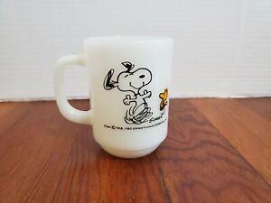 Snoopy-Woodstock-Coffee-Tea-Cup-Mug-Beagle-Bird-Peanuts-Charlie-Brown