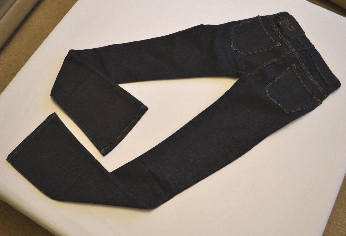 Jeans DA DONNA DONNA DONNA ARMANI skinny avviocut Blu Navy Sz. 24R Label-ACTUAL W26 L34.5 cbe11f