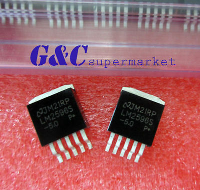 5PCS IC LM2596S-5.0 LM2596 NSC TO-263 NEW GOOD QUALITY