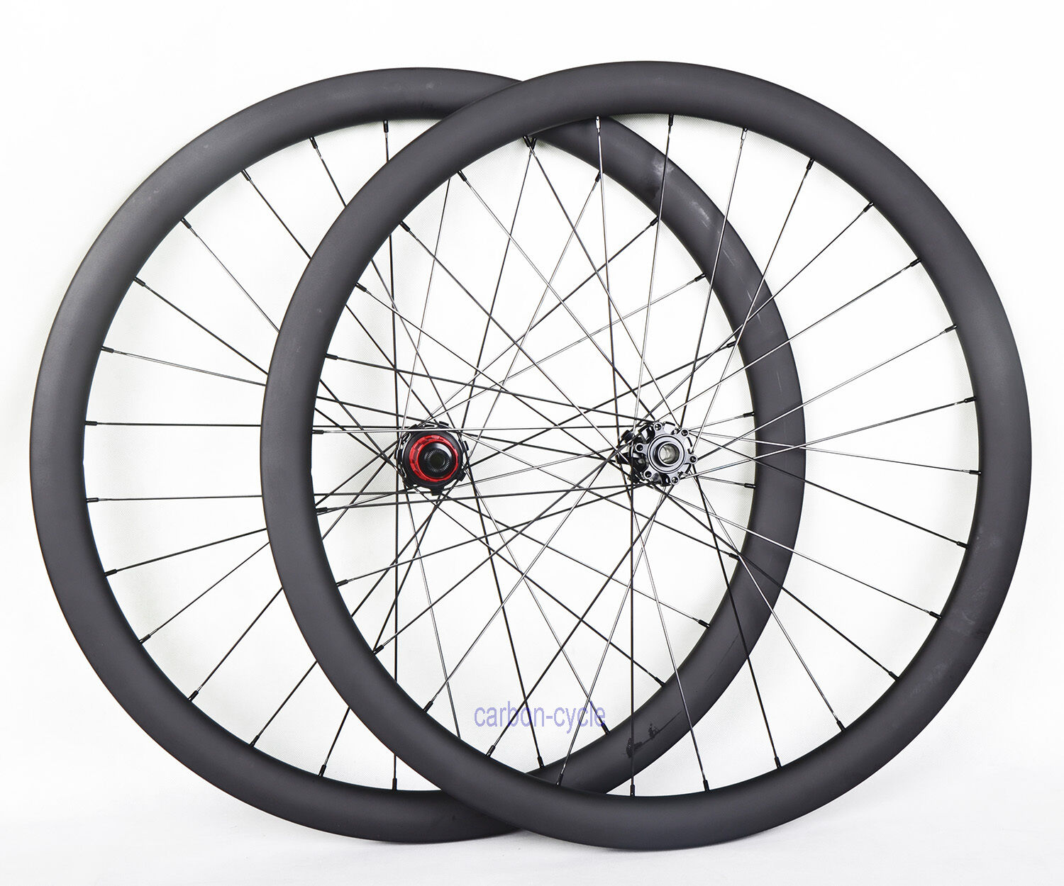 30mm Carbon Wheel Disc brake Tubular Cyclocross 700C Road Bike UD Matt DT spokes