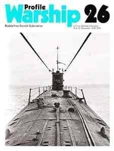 MARINA-Warship-Profile-26-Rubis-Free-French-Submarine-DVD