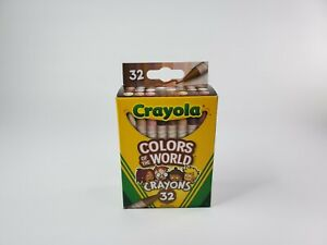Crayola-Colors-of-the-World-Multicultural-Crayons-32-Pack-Brand-New-2020-IN-HAND