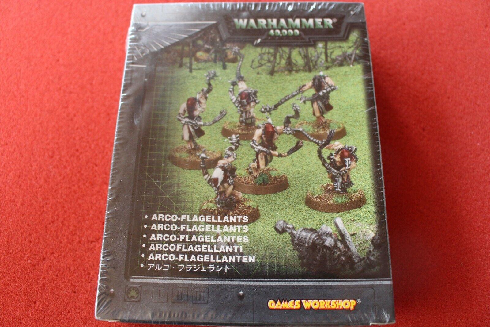 Juegos taller Warhammer 40k arco FLAGELLANTS Metal Nuevo Y En Caja Nuevo Hermanas de Batalla