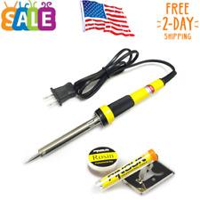 23 IN 1 Electrical Soldering Iron Kit Welding Tool Gun Set Solder Station US