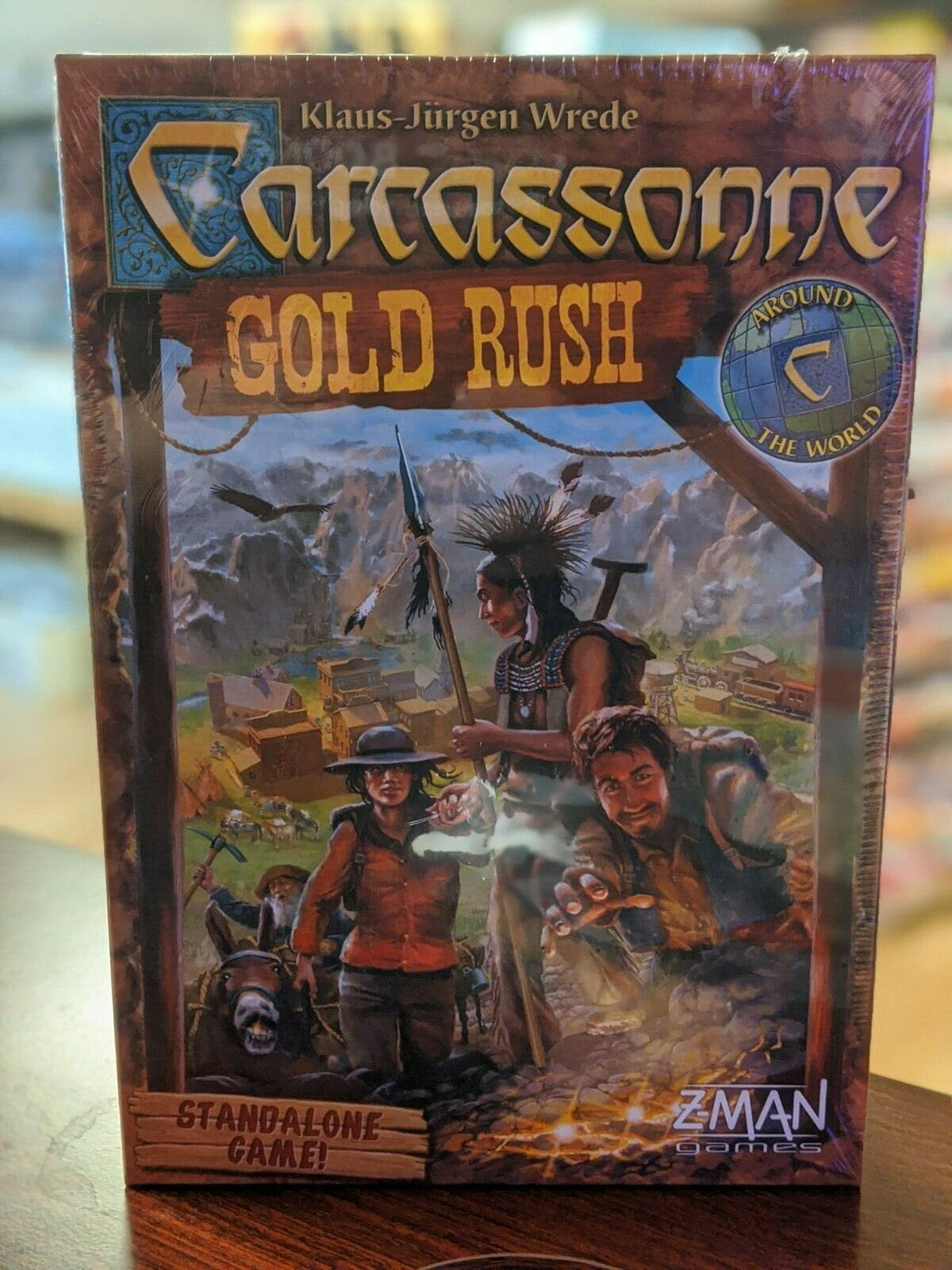 Carcassonne Gold Rush Brand New /& Sealed