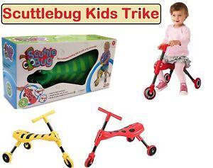 Scuttle-Bug-Correpasillos-Ninos-Ninos-Juguete-Abejorro-amp-Escarabajo-Diseno