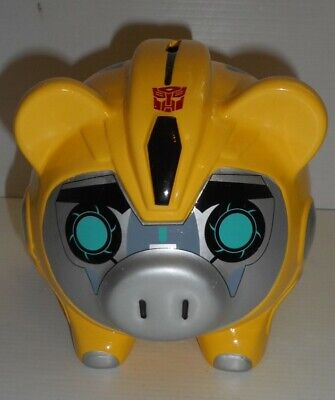 Transformer Bumblebee Coin Bank Hasbro NEW