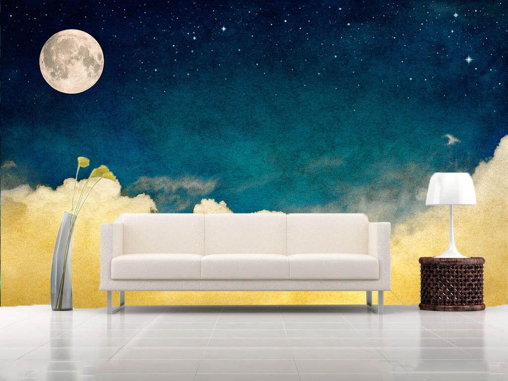 3D Himmel Blau agieren 364 Fototapeten Wandbild Fototapete BildTapete Familie DE