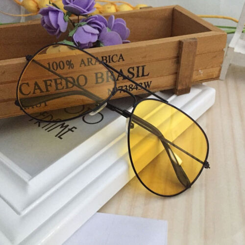 Night Vision Yellow View Sunglasses Shades Sun Glasses Uv400 Eye Protection