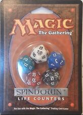 MTG BLACK LOTUS SPINDOWN 5 COLOR LIFE COUNTER DICE SET FREE SHIPPING