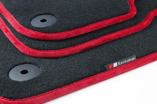 Luxury-line Auto Fussmatten für Seat Leon 3 5F SC 3-Türer FR Cupra Bj 2012