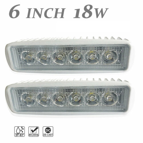 Set of 2 12v for Boat CA Spreader Led Marine Navigation Lights Spot Light