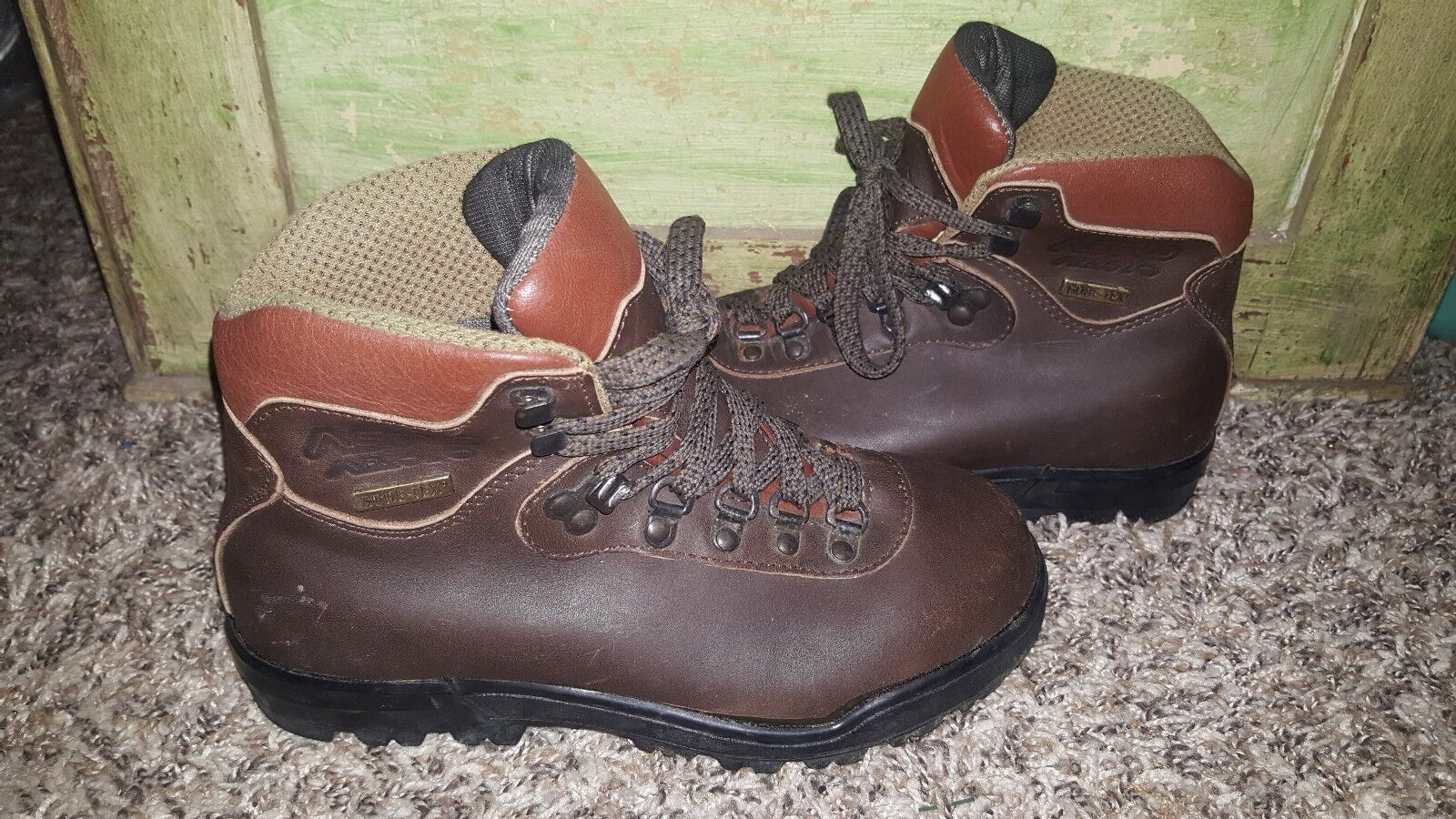 ASOLO AFX 520 womens hiking boots, size 6.5, excellent condition